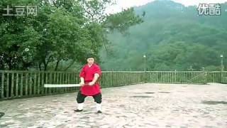 "中国苗刀刀法-辛酉刀法/Chinese Kungfu:The art of twohanded blade ""miao dao"""