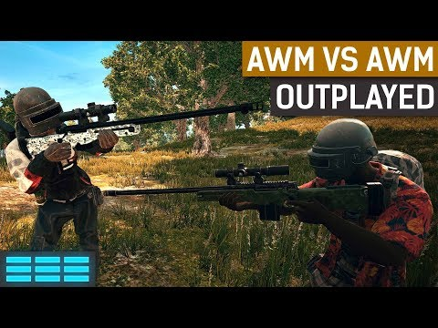 AWM vs AWM - Outplayed | PUBG Solo Gameplay