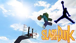 Monster School: SlamDunk Challenge | Slendrina | Minecraft Animations