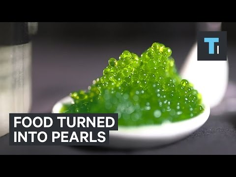 This device turns all your food into caviar-like pearls