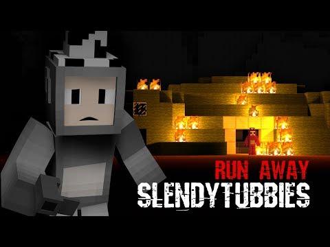 "Short-imation ""RUN AWAY"" Slendytubbies  Minecraft"