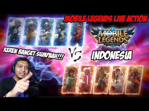 SUMPAH !! Keren Banget Mobile Legends Live Action Indonesia!!!