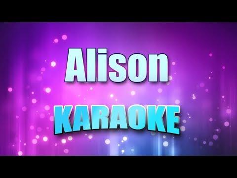 Costello, Elvis - Alison (Karaoke version with Lyrics)