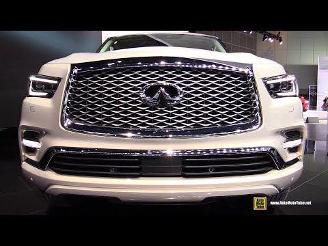 2018 Infiniti QX80 - Exterior and Interior Walkaround - 2017 LA Auto Show