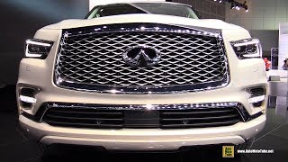 2018 Infiniti QX80 - Exterior and Interior Walkaround - 2017 LA Auto Show