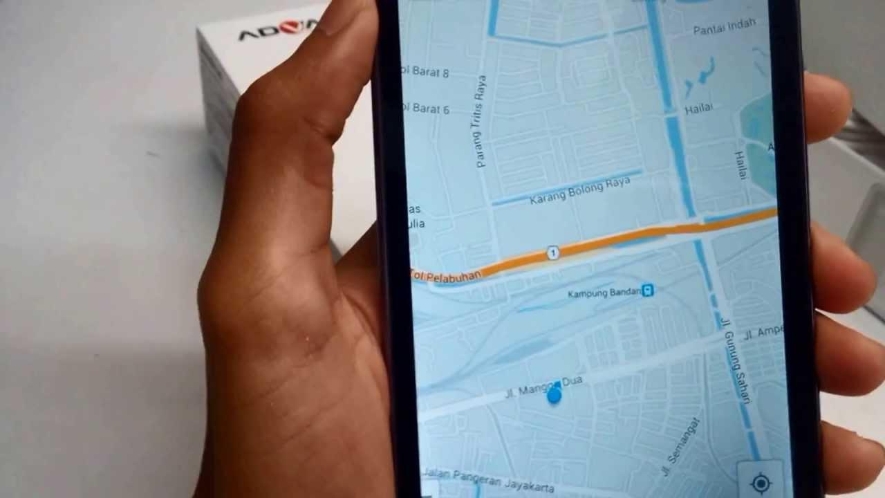 Advan Vandroid S5f GPS Lock Tokoasean