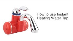 How to Install and Use Instant Water Heating Tap (Portable Water Heater)
