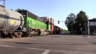 """[HD] MUST SEE! Fort Collins, CO """"Street Running""""- BNSF"""