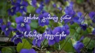 Nino Katamadze - Violets (iebi) +Lyrics