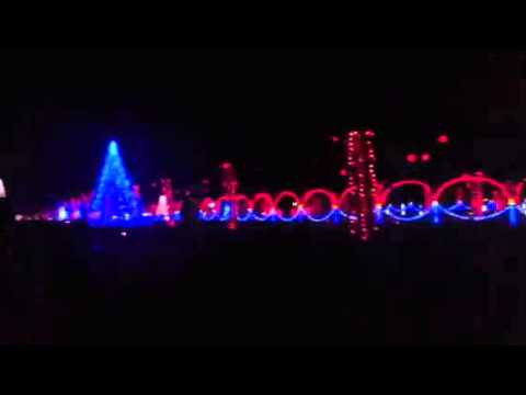 Nashville Christmas lights show