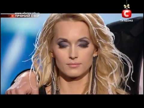 Победа АИДЫ НИКОЛАЙЧУК на Шоу X-ФАКТОР-3 (05.01.2013)