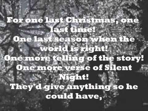 One Last Christmas Matthew West Lyrics
