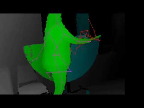 Ghost captured with Structured Light Sensor Camera system