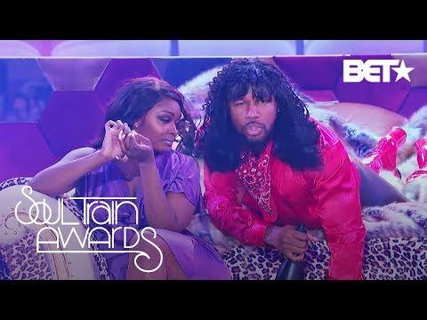 Singer Tank's Sexy Rick James Cover   Lip Sync Battle: Soul Train Awards Edition
