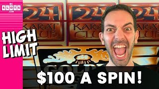 😮 $100/Spin?! Is Brian CRAZY?!? 🤪 HIGH LIMIT ⏫ Golden Nugget 💛 ✦ BCSlots