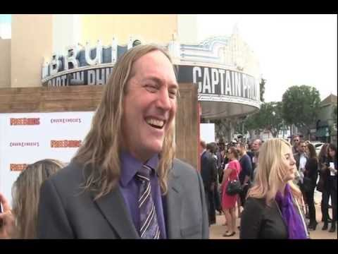 Danny Carey Interview at the  Free Birds Premiere