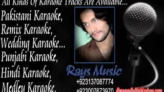 Woh Lamhe   Zehar karaoke By Atif aslam