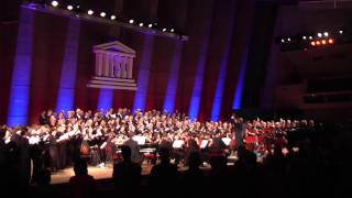 US-French National Anthems-Vive l