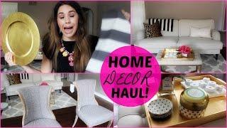 Home Decor Haul!  |tjmaxx, Ikea, Target|