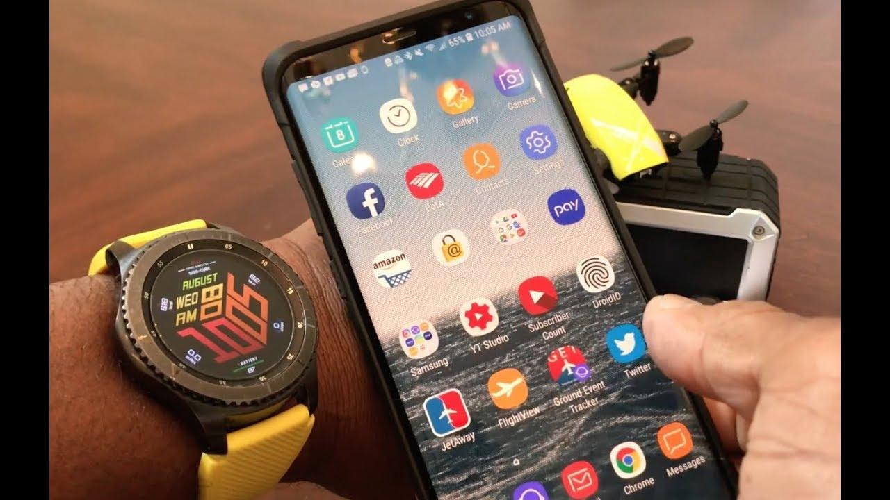how to unlock a samsung watch