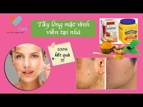 Cách tẩy lông mặt vĩnh viễn làm tại nhà -How to Remove Hair Permanently at Home