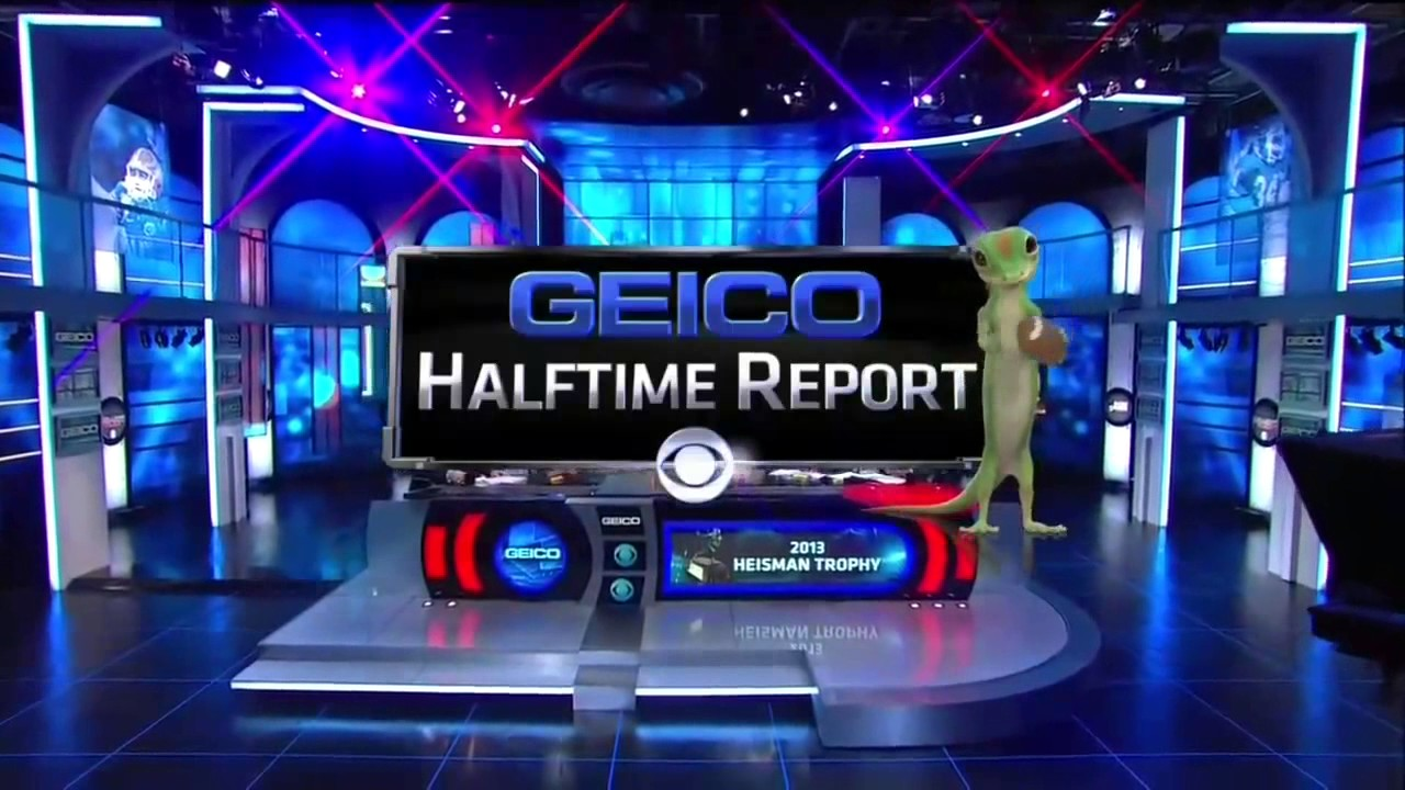 Geico Sign In >> CBS Sports Geico Halftime Report Intro (2013-2015) - YouTube