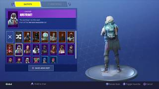 Fortnite: Battle Royale - New Back Bling - Offworld Rig (The Visitor) - On Abstrakt Skin