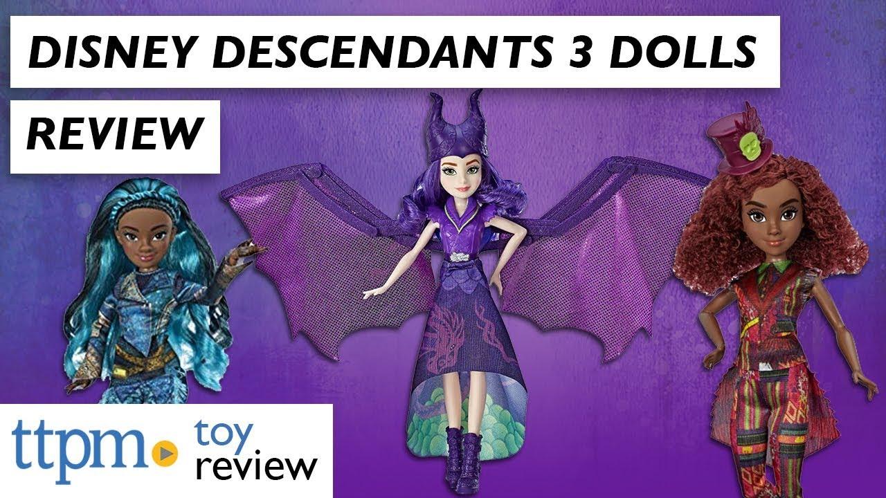 Disney Descendants 3 Dolls from Hasbro