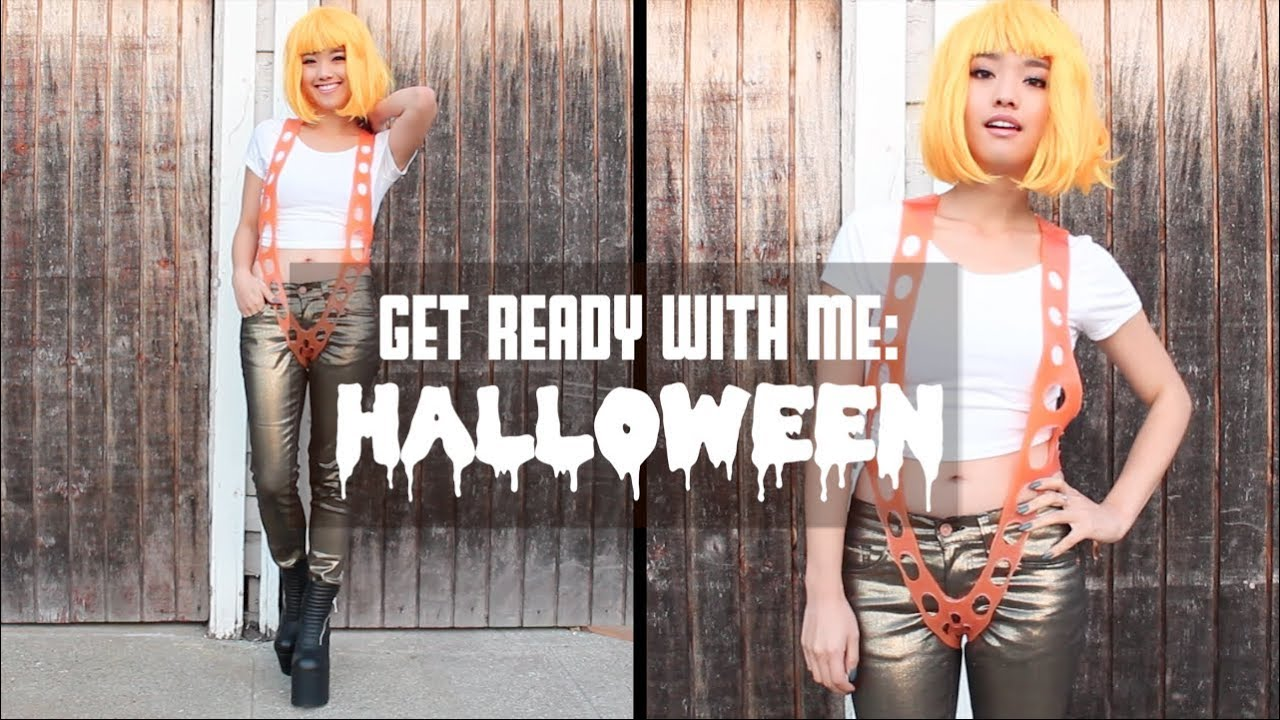 leeloo dallas the fifth element halloween costume youtube