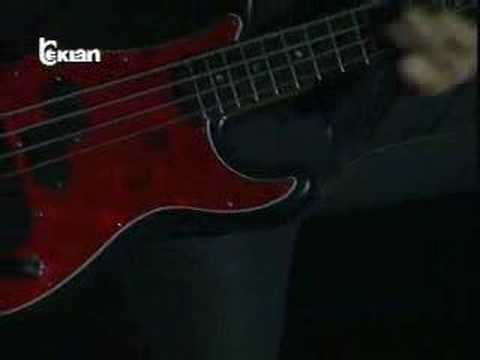 Live Albania John Leven solo bass