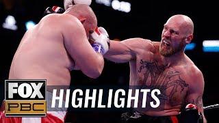 Adam Kownacki stunned by Robert Helenius in fourth round TKO | HIGHLIGHTS | PBC ON FOX