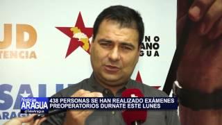 Avance de plan quirúrgico realizado por Corposalud  en municipio Santiago Mariño. 07/07/2014