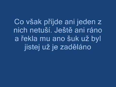 Gipsy Černá kronika TEXT