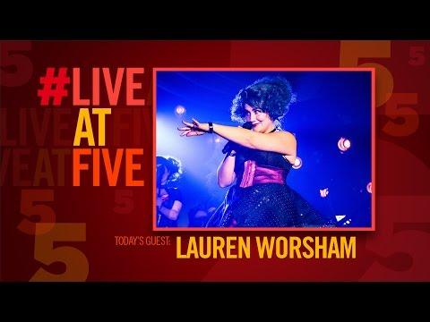 Broadway.com #LiveatFive with THE WILDNESS' Lauren Worsham