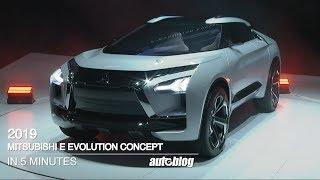 2019 Mitsubishi E Evolution Concept Event In Just 5 Minutes