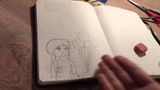 Идеи для личного дневника / страничка на день рождения 😃(Вот ссылка на видео ( канал theDiaryNames) http://lafleur-shop.ru/goods/Chasy-kulon-Sojka-peresmeshnica., 2014-11-13T11:06:14.000Z)