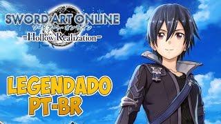SWORD ART ONLINE: Hollow Realization #1 - Bem-Vindos Ao SAO: ORIGINS!! - Legendado PT-BR