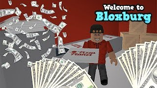 HOW TO GET RICH ON BLOXBURG PART 2 | ROBLOX | FAMBAM GAMING