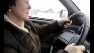 Урок вождения для бабули . Рыбинский Шумахер