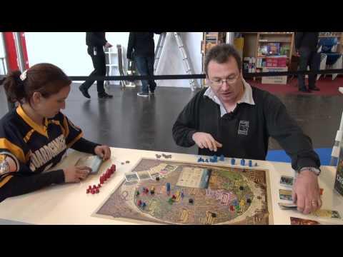 Discworld: Ankh-Morpork - BoardGameGeek Booth - Essen Spiel 2011