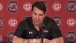 POSTGAME: Will Muschamp on Alabama — 9/14/19