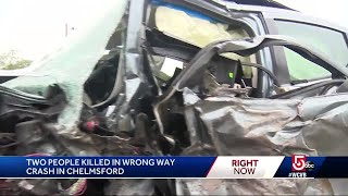 Car driving 100+ mph involved in double fatal wrong-way crash, police say