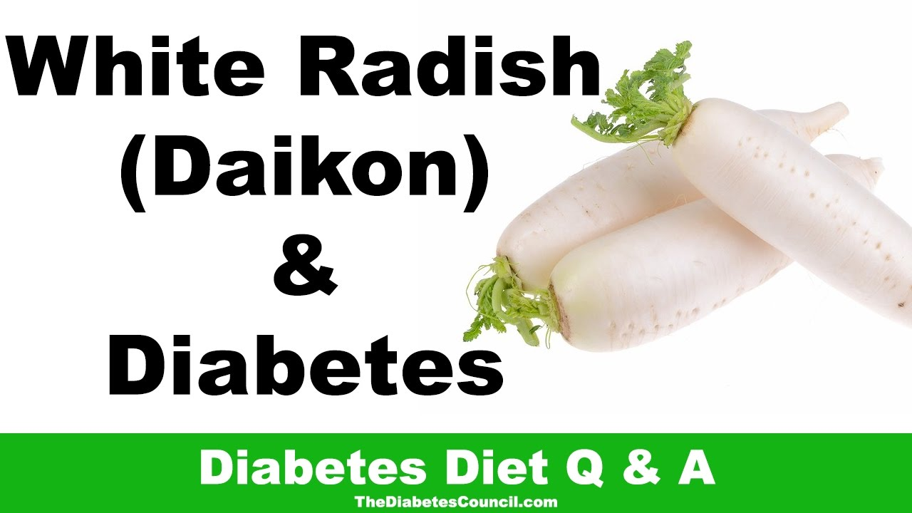 are radishes ok with diabetic diets