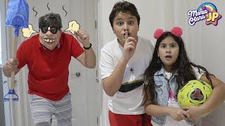 Maria Clara e JP tentam fazer amizade com o vizinho e aprendem regras de boa vizinhança. YouTube Videos