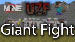 uzf fighting alongside maplez vs the clique friends
