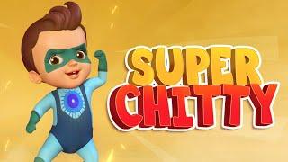 ஜூம் ஜூம் ஜூம் சூப்பர் சிட்டி - Super Chitti | Tamil Rhymes for Children | Infobells
