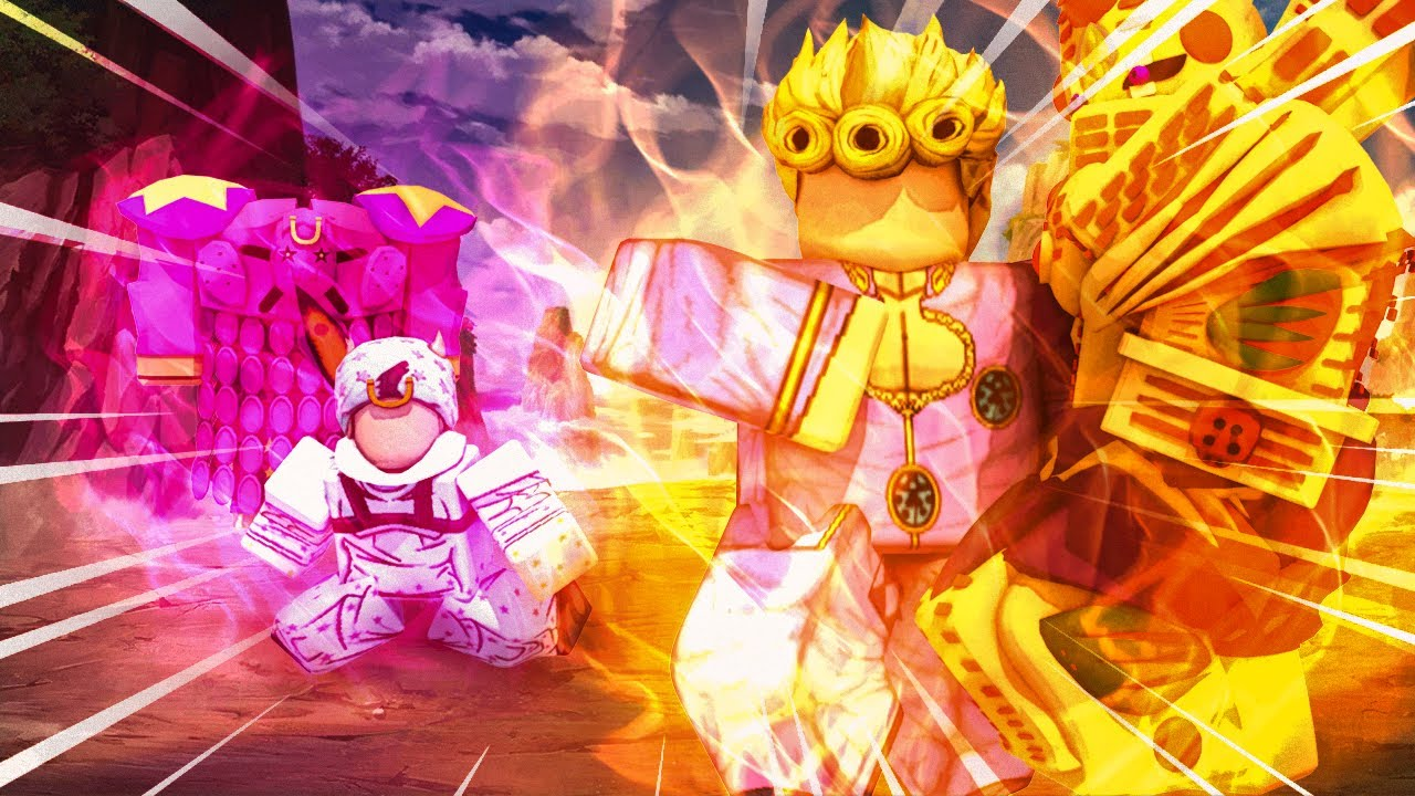 Download Mythical Gold Experience Requiem vs Tusk Act 4! Godly Stand Showdown! (Anime Mania Roblox)