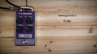 P&B Pedal Tones - THUNDERSTORM Flanger by TC Electronic