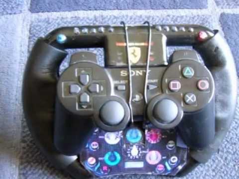 Steering Wheel Pc Mitsubishi Pajero Ecu Wiring Diagram Home Made - Ps3 F1 Youtube