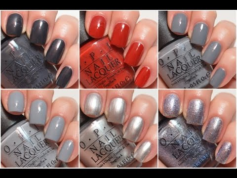 Opi Fifty Shades Of Grey Swatch And Review